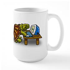 Large Computer Turtle Mug