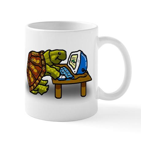 Computer Turtle Mug