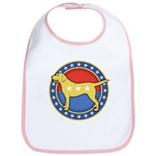 Yellow Dog Bib