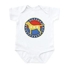 Yellow Dog Infant Bodysuit