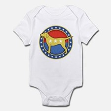 Yellow Dog Infant Bodysuit