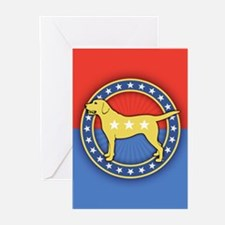 Yellow Dog Greeting Cards (Pk of 10)