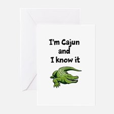 Im Cajun and I know it Greeting Cards (Pk of 10)
