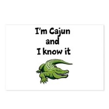 Im Cajun and I know it Postcards (Package of 8)