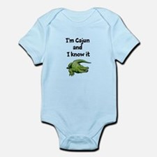 Im Cajun and I know it Infant Bodysuit