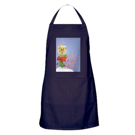 Let Your Light Shine OES Apron (dark)