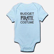 Budget Pirate Costume Infant Bodysuit
