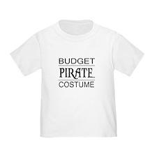 Budget Pirate Costume T