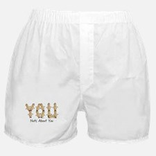 Nuts About You Peanuts Boxer Shorts