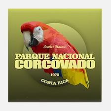 Corcovado NP Tile Coaster