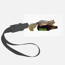Squirrel Empty Bottle Luggage Tag