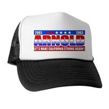 """Arnold For Governor"" ARNOLD Trucker Hat"