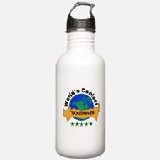 Cute Cab Sports Water Bottle