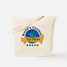 Cute Taxi driver Tote Bag