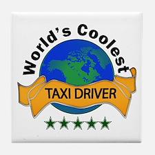 Unique Taxi Tile Coaster