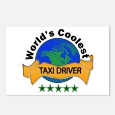 Unique Taxis Postcards (Package of 8)
