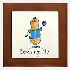 Bowling Nut Framed Tile
