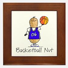 Basketball Nut Framed Tile