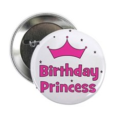Birthday Princess! w/ Crown Button