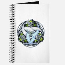 Celtic Triple Crescents - Green Journal