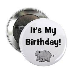 It's My Birthday! w/ Elephant Button