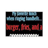 Handbell ringer Magnets