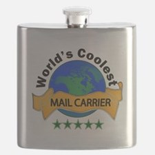 Cute Mail carrier Flask