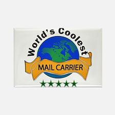 Unique Mail carrier Rectangle Magnet