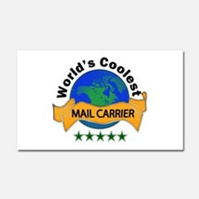 Unique Mail carrier Car Magnet 20 x 12