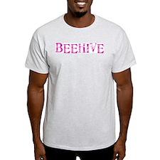 LDS BEEHIVE logo Ash Grey T-Shirt