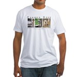 3 Chained Dogs: Longing to be Fitted T-Shirt