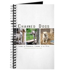 3 Chained Dogs: Longing to be Journal