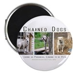 3 Chained Dogs: Longing to be Magnet