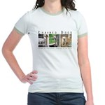 3 Chained Dogs: Longing to be Jr. Ringer T-Shirt