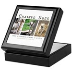 3 Chained Dogs: Longing to be Keepsake Box