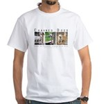 3 Chained Dogs: Longing to be White T-Shirt