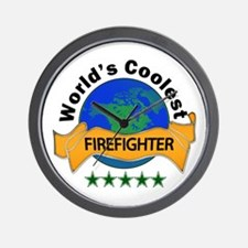 Unique World%27s greatest firefighter Wall Clock