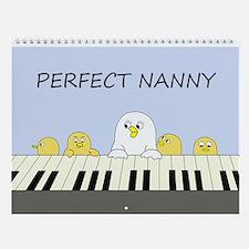 Perfect Nanny Wall Calendar