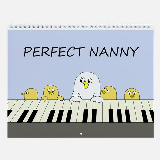 Perfect Nanny Wall Calendar