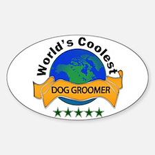 Cute World%27s best trainer Sticker (Oval)