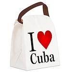 ilovecuba.png Canvas Lunch Bag