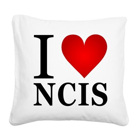 ilovencis.png Square Canvas Pillow