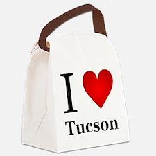 I Love Tucson Canvas Lunch Bag