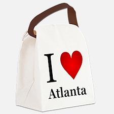I Love Atlanta Canvas Lunch Bag