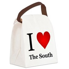 I Love the South Canvas Lunch Bag