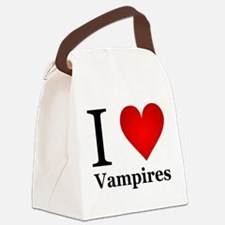 ilovevampires.png Canvas Lunch Bag