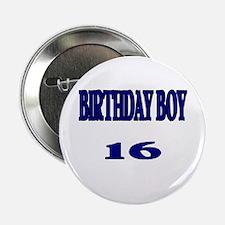 Birthday Boy 16 Button