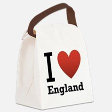 i-love-england-light-tee.png Canvas Lunch Bag