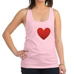 i-love-chocolate.png Racerback Tank Top