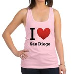 i-love-san-diego.png Racerback Tank Top